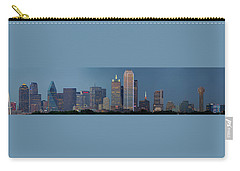 Dallas At Night Carry-all Pouch by Jonathan Davison