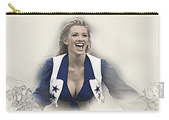 Dallas Cowboys Cheerleader Katy Marie Performs Carry-all Pouch