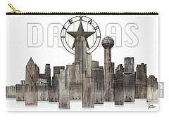 Dallas Texas Skyline Carry-all Pouch