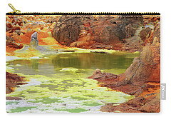 Dallol Volcanic Crater Carry-all Pouch by Aidan Moran