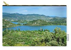 Dalmatian Coast Panorama, Dalmatia, Croatia Carry-all Pouch