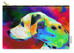Dalmatian Dog Portrait Carry-all Pouch