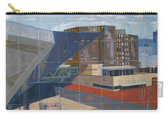 Carry-all Pouch featuring the painting Dam Museum by Erin Fickert-Rowland