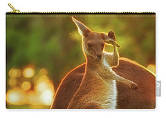 Carry-all Pouch featuring the photograph Damn Flies, Yanchep National Park by Dave Catley