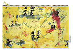 Carry-all Pouch featuring the painting Dance Art Creation 1d9 by Manuel Sueess