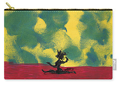 Carry-all Pouch featuring the painting Dance Art Dancer by Manuel Sueess