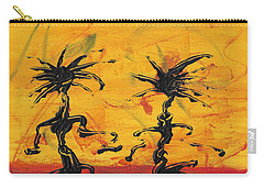 Carry-all Pouch featuring the painting Dance Art Dancing Couple X by Manuel Sueess