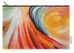 Dance Me To The End Of Time Carry-all Pouch by Itzhak Richter
