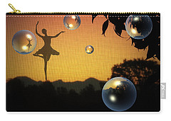 Carry-all Pouch featuring the photograph Dance Of A New Day by Joyce Dickens