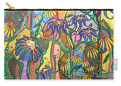 Carry-all Pouch featuring the painting Dance Of Life by Tanielle Childers