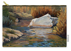Dance Of Light On Bishop Creek Carry-all Pouch
