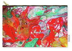 Dance Of Love - Colorful Happy Art Paintings Carry-all Pouch
