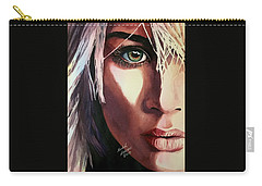 Carry-all Pouch featuring the painting Dance Of Love by Michal Madison