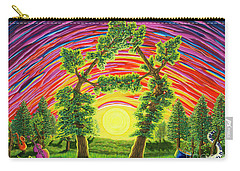 Dance Of Sunset Carry-all Pouch