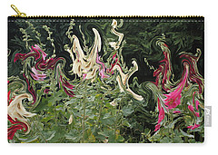 Dance Of The Hollyhock Fairies Carry-all Pouch