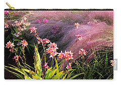 Dance Of The Orchids Carry-all Pouch by Rosalie Scanlon