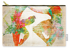 Carry-all Pouch featuring the digital art Dance With Me by Nikki Smith