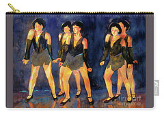 Dancers  Spring Glitz     Carry-all Pouch