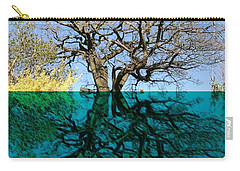 Dancers Tree Reflection  Carry-all Pouch