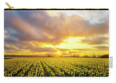 Dances With The Daffodils Carry-all Pouch by Ryan Manuel