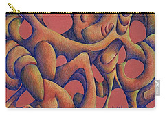 Dancing At A Wedding Reception Carry-all Pouch by Versel Reid