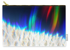 Carry-all Pouch featuring the photograph Dancing At The North Pole by Greg Collins