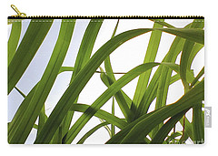 Carry-all Pouch featuring the photograph Dancing Bamboo by Rebecca Harman