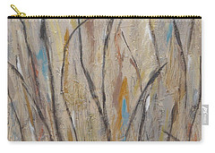 Dancing Cattails I Carry-all Pouch by Trish Toro
