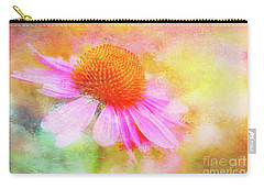 Dancing Coneflower Abstract Carry-all Pouch