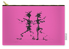 Carry-all Pouch featuring the digital art Dancing Couple 2 by Manuel Sueess