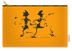Carry-all Pouch featuring the digital art Dancing Couple 3 by Manuel Sueess