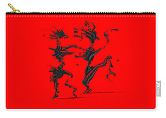 Carry-all Pouch featuring the digital art Dancing Couple 4 by Manuel Sueess