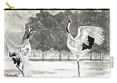 Dancing Crane II Carry-all Pouch