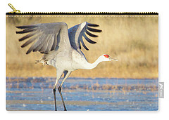 Dancing Crane Carry-all Pouch