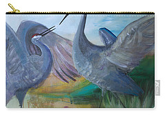 Dancing Cranes Carry-all Pouch