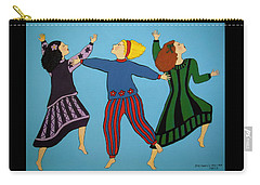 Dancing For Joy Carry-all Pouch