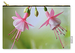 Dancing Fuchsia Carry-all Pouch by Terence Davis