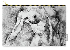 Dancing Girl Drawing Carry-all Pouch