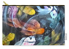 Dancing Koi Carry-all Pouch by Barbara O'Toole