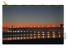 Carry-all Pouch featuring the photograph Dancing Lights by Amy Gallagher