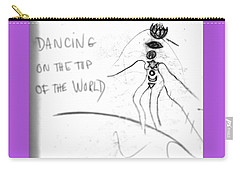 Dancing On The Top Of The World Carry-all Pouch