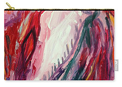 Carry-all Pouch featuring the painting Dancing Under The Moon by Diane Pape