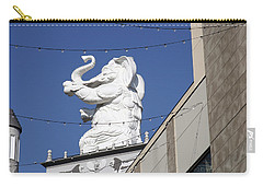 Dancing White Elephant Carry-all Pouch