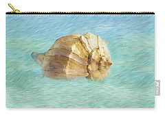 Carry-all Pouch featuring the photograph Dancing With The Sea by Betty LaRue