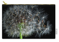 Carry-all Pouch featuring the photograph Dandelion 3 by James Sage