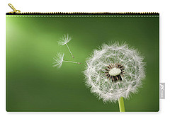 Carry-all Pouch featuring the photograph Dandelion by Bess Hamiti