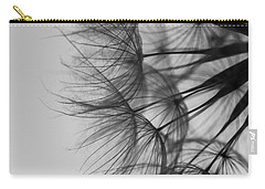 Carry-all Pouch featuring the photograph Dandelion Close Up by Jan Bickerton