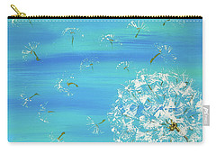 Dandelion Flight Carry-all Pouch
