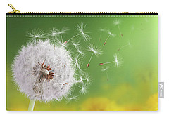 Dandelion Flying Carry-all Pouch