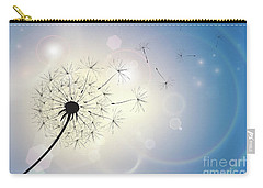 Dandelion In A Summer Breeze Carry-all Pouch